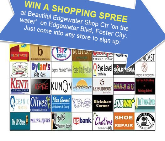SHOPPING SPREE NOW ON – EDGEWATER PLACE Shopping Center   – FREE SHOPPING SPREE , Foster City, CA
