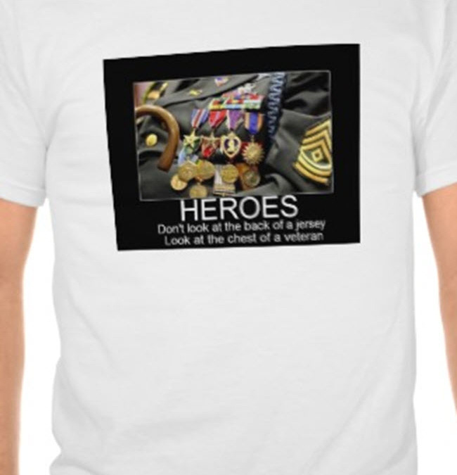 Villaneuva Jersey, Vet Hero Tshirts -VETERANS DAYS – Winning Combo – 25+ VETERAN'S DAY FREEbies-Restaurants,Gift Cards