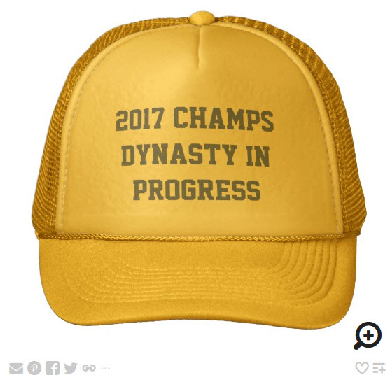 2017 CHAMPS - DYNASTY IN PROGRESS